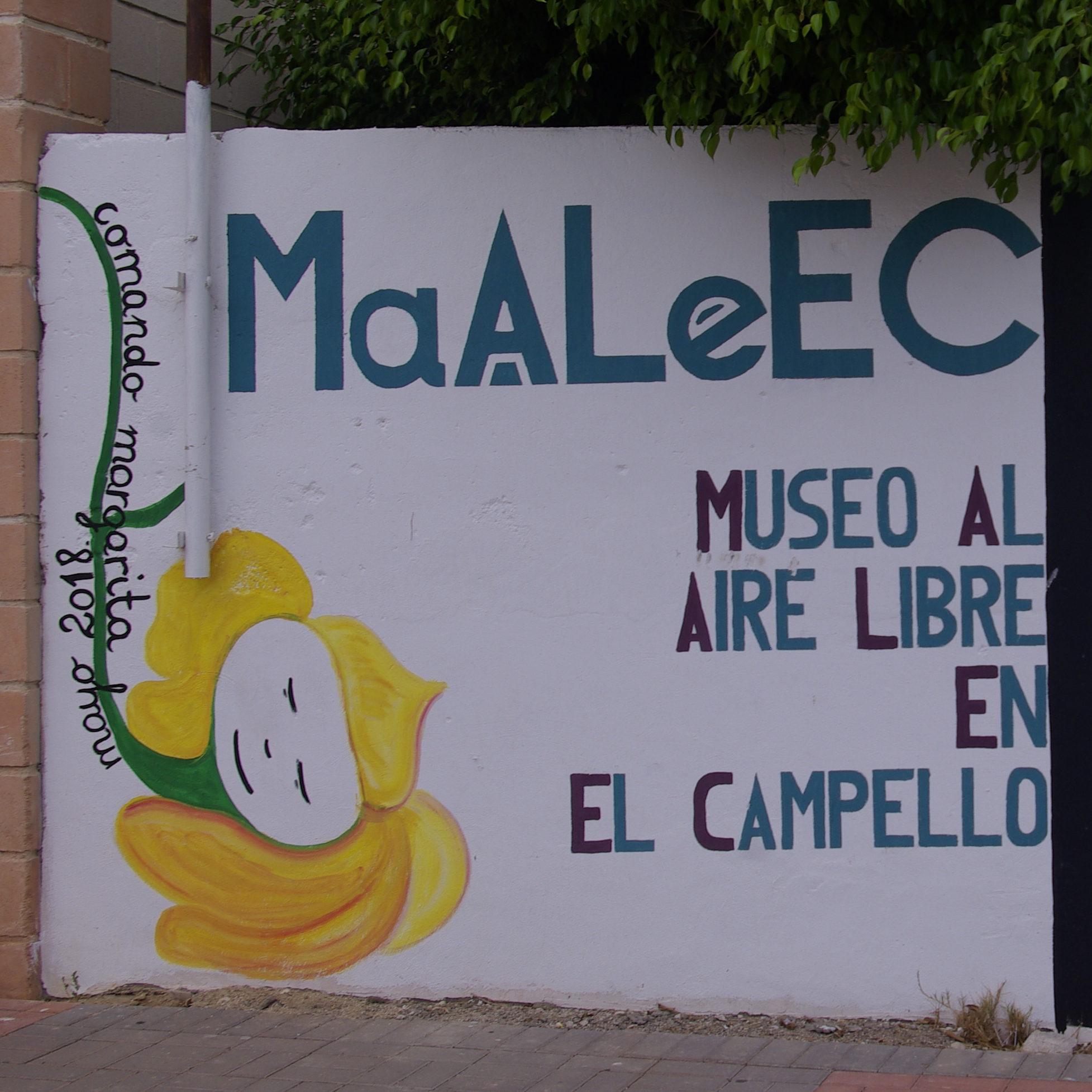 """Paneles Explicativos Para Los Murales Del """"Museo Al Aire Libre En El Campello"""""""